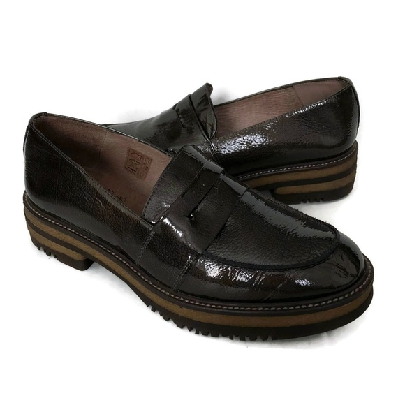6ce0eea306c Wonders Penny Loafers Thick Sole Patent Leather. M 5b5c96ae3c98448ca925fa1c